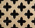 Oregon 28mm Cross Oak Veneered MDF Decorative Screening Panel 1800mm x 600mm x 4mm